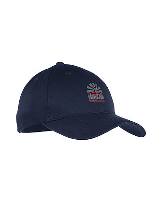 Navy -Six-Panel Unstructured Twill Cap