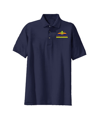 Short Sleeve- Navy-Polo