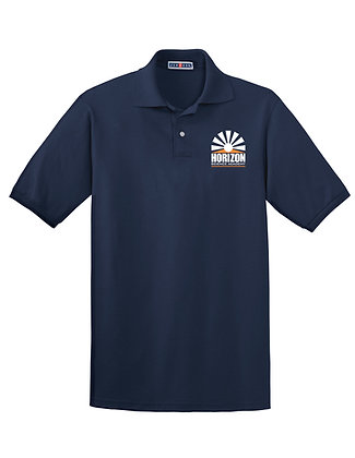 Short Sleeve- Navy Polo