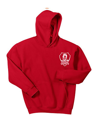 HOODED SWEATSHIRT-RED