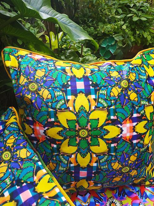 Wyderush Legacy Prints -Agatha Floral Print Cushion