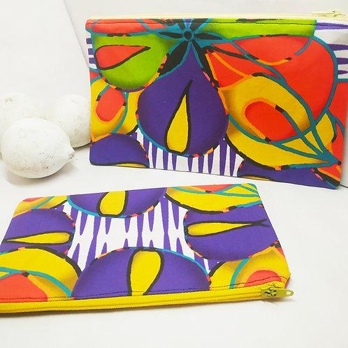 Wynderush Legacy Collection- Agatha-Maudlin -Tropical Floral Purse