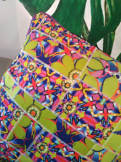 Wyderush Legacy Collection - Patchwork Print Cushion
