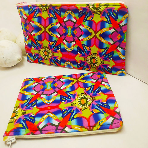 Wynderush Legacy Collection- Gene Martin -Abstract Floral Purse