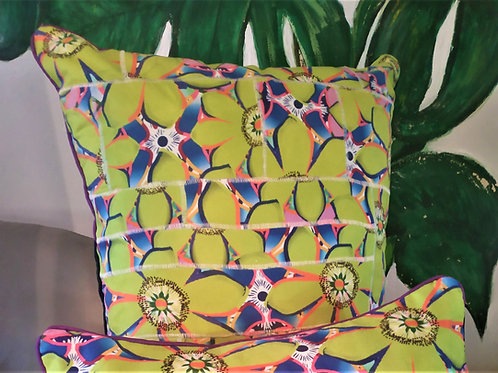 Wynderush Legacy Collection - Patchwork Print Cushion