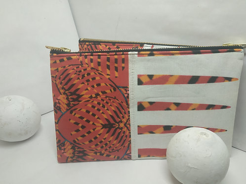 Wynderush Legacy Collection- Lynnett -Basket Weave Print  Purse