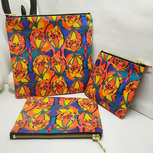 Wynderush Legacy Collection- Maudline Print  Purse