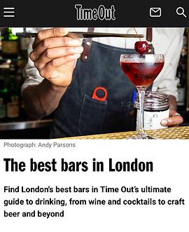 Best Bars In London  43 Brilliant London