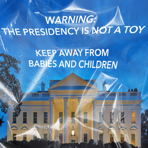 The United States federal government does not require warning labels detailing the dangers posed to babies and children by dry cleaning bags.  However they do offer every citizen over the age of 18 the right to vote.