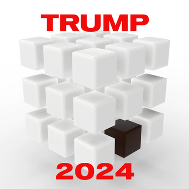 Exclusive: Donald Trump commissions a re-engineered Rubik's Cube to kick off his 2024 merch line.   The puzzle is now a simple to solve racist roadmap to MAGA.