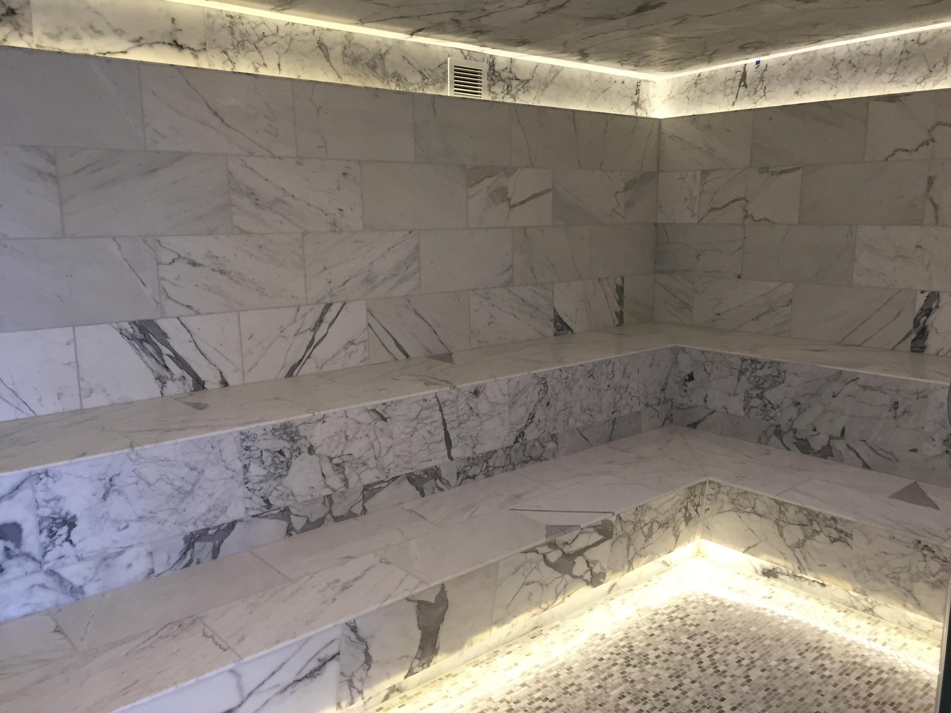 Marble Bathroom Installation