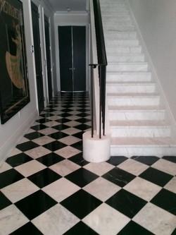 Pattern Marble Installation