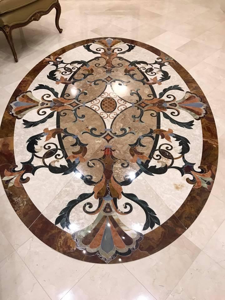 Marble Inlay at the Palace