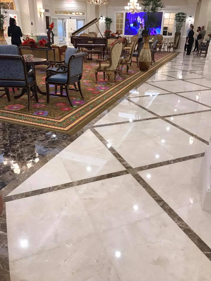 Marble Installation