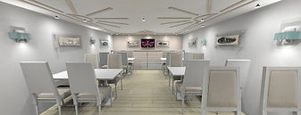 Salon  de thé 170 m²