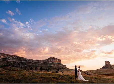 Oranje Gasteplaas - Clarens wedding - Charl & Keeley
