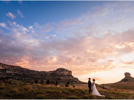 Oranje Gasteplaas - Clarens wedding - Charl & Keeley