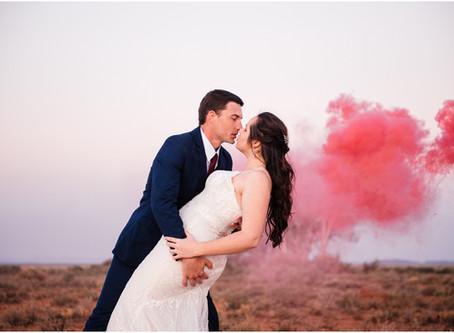 Sweetfontein Boutique Farm Lodge Britstown Wedding - Ettienne & Sarita