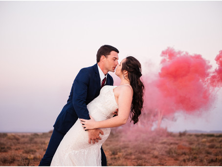 Sweetfontein Boutique Farm Lodge Britstown Wedding - Ettienne & Sarita