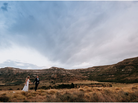 Earthrise Mountain Lodge - Ficksburg wedding - Travis & Marguerite