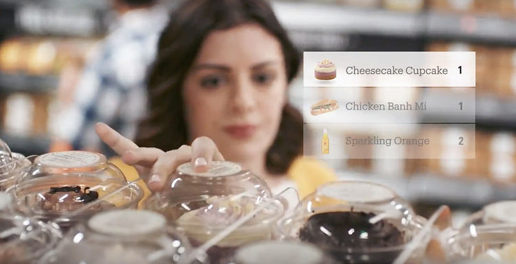 amazon.com, amazon go, bukwld, production design, food styling, props, art direction, cupcakes, yellow,  orange, banh mi
