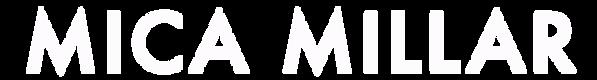 Mica Millar Logo Text White.png