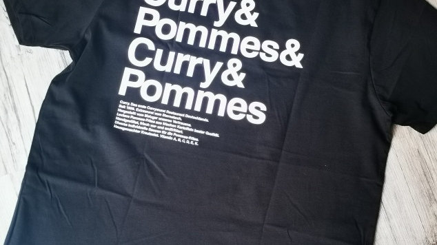 """SHIRT """"CURRY&POMMES"""""""