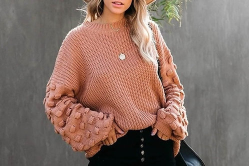 Accent Sleeve Sweater