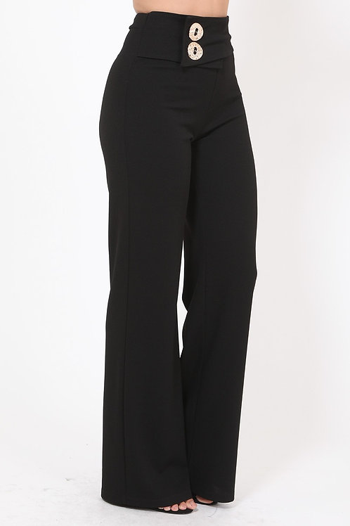 Busy All day Black Pant