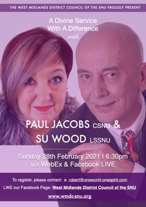 WMDC Divine Service with Paul Jacobs & Su Wood (28/02/21)