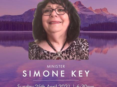 WMDC Divine Service with Simone Key (25/04/21)