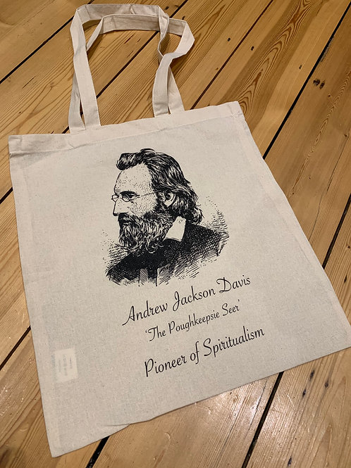 Exclusive Andrew Jackson Davis Tote Bag