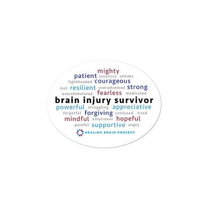 Brain Injury Survivor Stickers