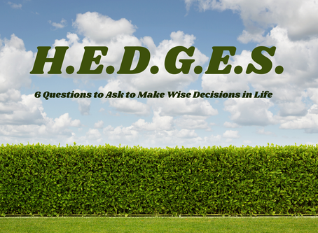 H.E.D.G.E.S. - Is it Glorifying to God?
