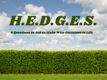 "H.E.D.G.E.S. - ""Is it Selfless?"""