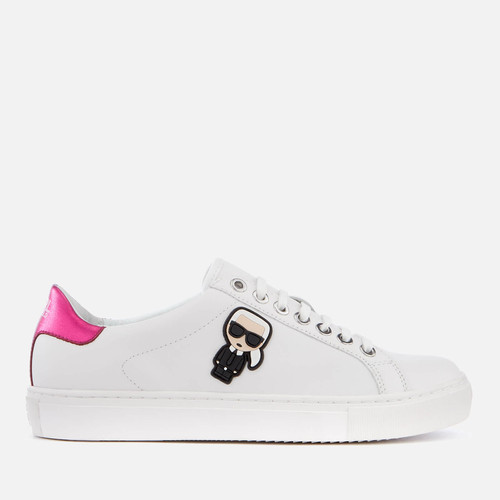 9acf123c72a1 Karl Ikonik Leather Trainers by Karl Lagerfeld