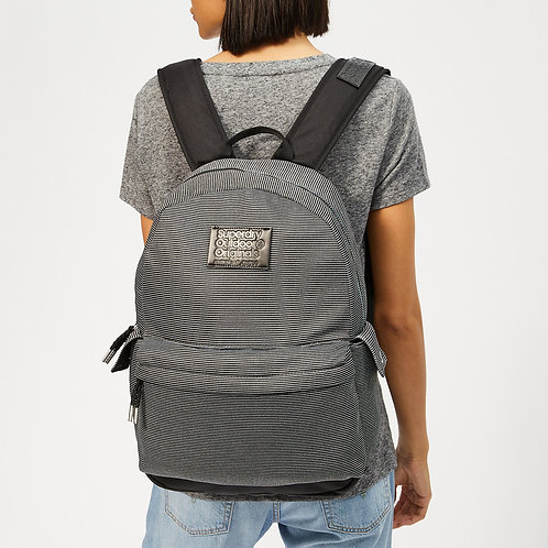 Jersey Stripe Montana Backpack by Superdry