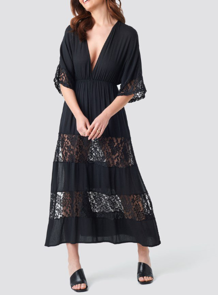 Lace Maxi Dress by Trendyol
