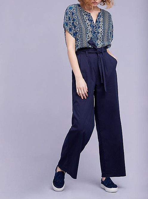 Wide-Leg Trousers by Antropologie