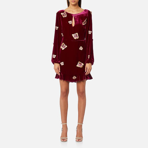 Luxe Velvet Mini Dress by For Love & Lemons