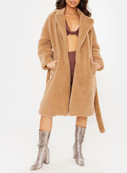 LonglineFur Coat