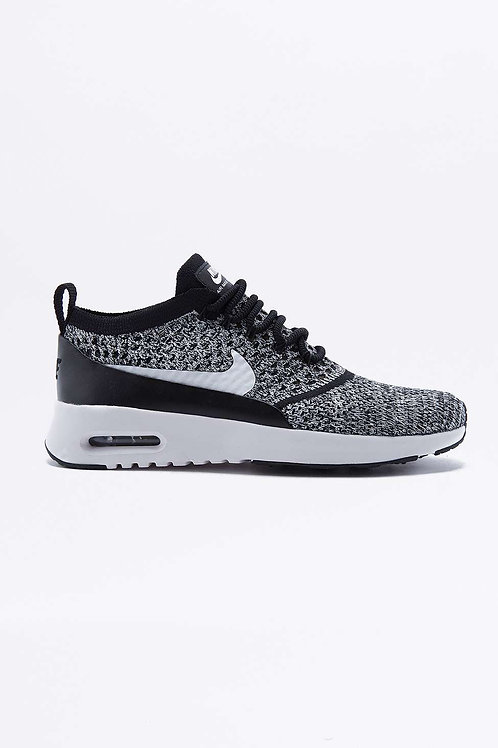 Air Max Thea Black Mesh Trainers by Nike
