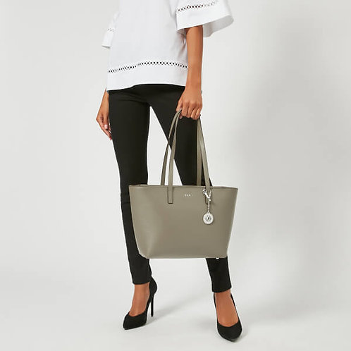 Sutton Textured Leather Tote Bag by DKNY