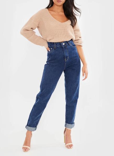 Wash Denim 5 Pocket Jeans