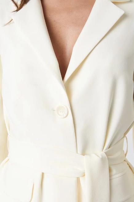 Front Tie Blazer by Tina Maria