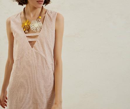 V Neck Dress by Yargici