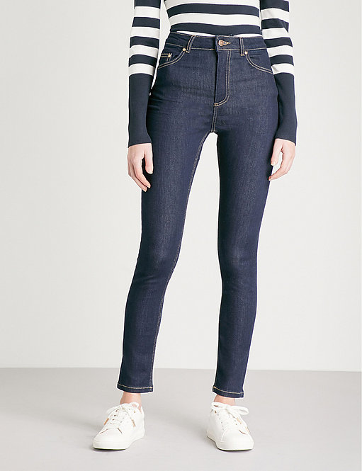 Skinny High-Rise Jeans by Warehouse