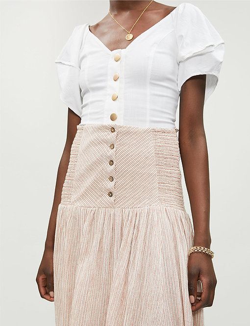 Cheesecloth Maxi Skirt by Free People