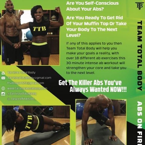 Abs On Fire DVD