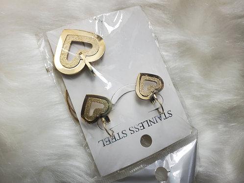Shapes Gold Guarantee Necklace Sets.
